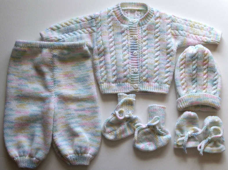 cable sweater set
