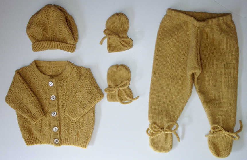 newborn sweater set